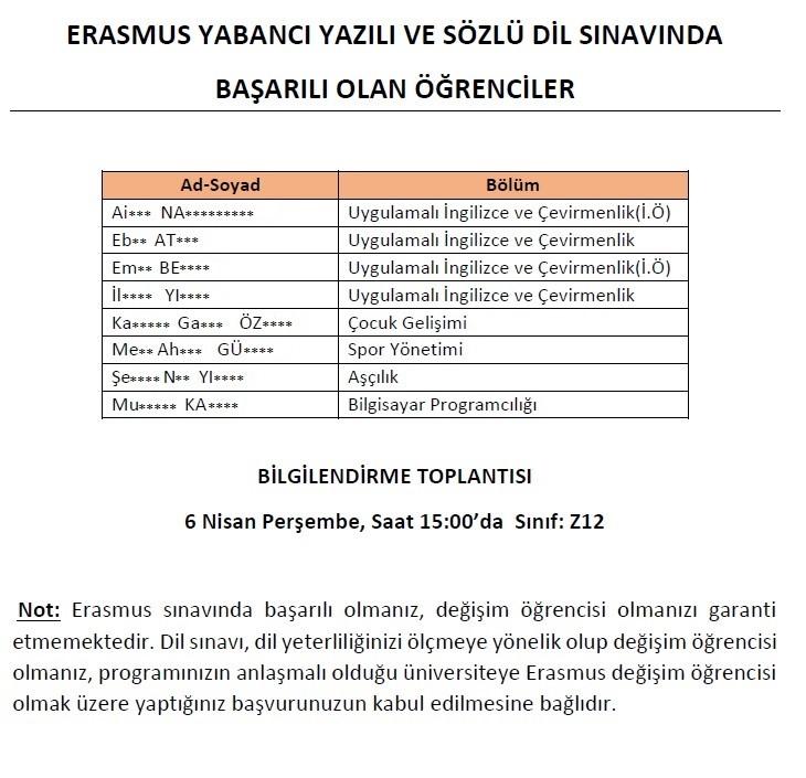 erasmusyazilisozlu