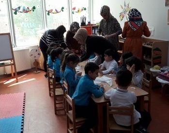 Hayata-Doğru-İlkokulu-Anasınıfı'na-Meslek-Yüksekokulumuzun-Ziyareti-1